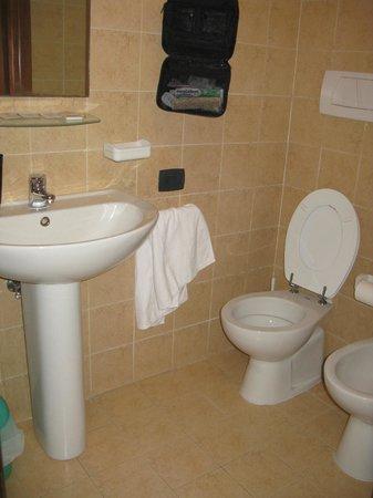 Residenza Cieloterra: monolocale: bagno