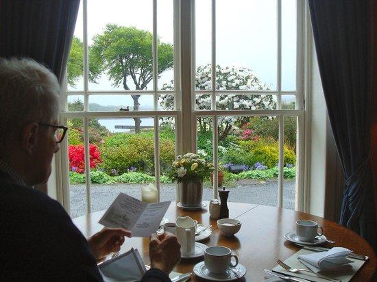 Rosleague Manor Hotel: Frühstück mit Stil und schöner Aussicht