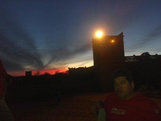 Auberge du Sud : Pôr do sol