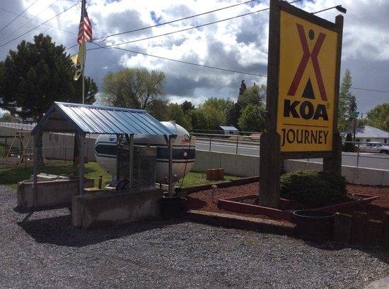 Klamath Falls KOA : We are a KOA Journey