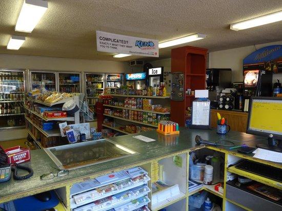 Klamath Falls KOA : Inside the Store