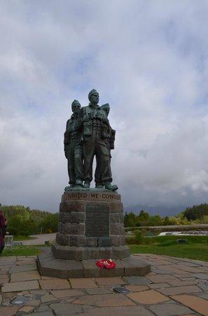 Commando Monument: monumento