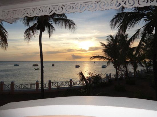 Coco Reef Tobago: Sunset view