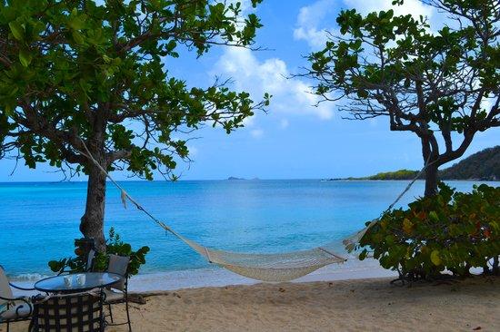 Mango Bay Resort: Hammock by the beach
