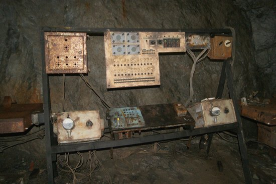 Project Riese: Rusting control equipment