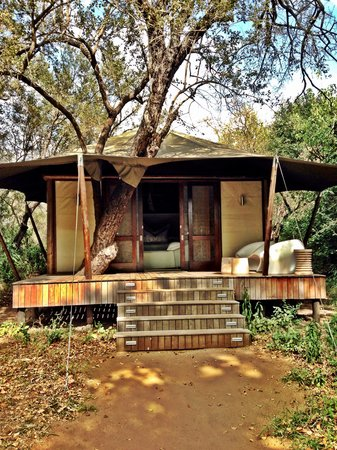 andBeyond Ngala Tented Camp : Tenda de luxo