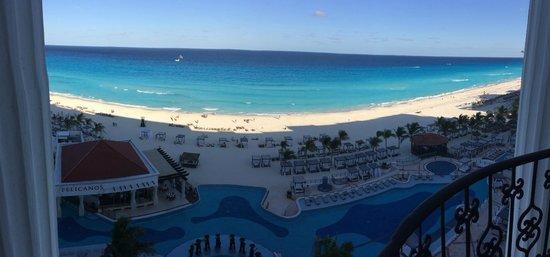 Hyatt Zilara Cancun: View from room 712