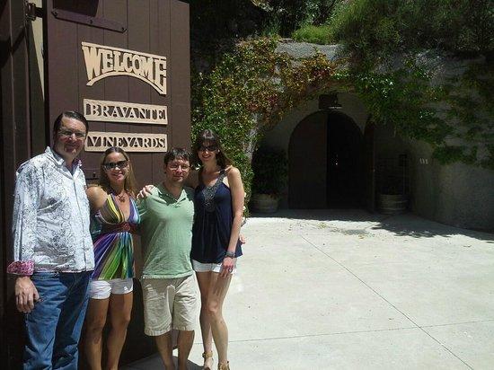 Beau Wine Tours - Napa Valley: Bravante Winery