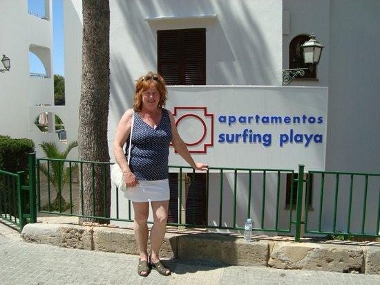 Ona Surfing Playa: Hotel ingang