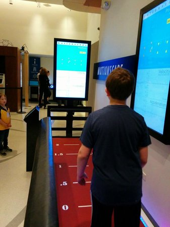National Museum of Mathematics: Use Your Body as A Controller In This Math Game at Museum of Math