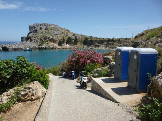 Agios Pavlos Beach (Saint Paul): BAY LINDOS