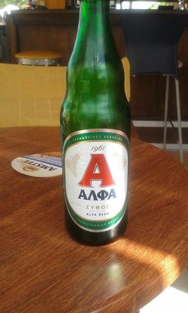 Hotel Karras: Home beer €2.50