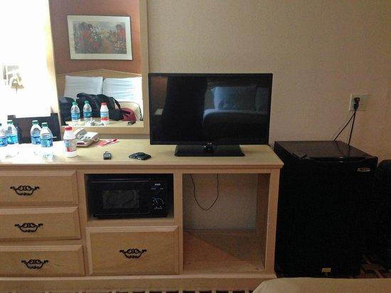 Econo Lodge : tv-micro