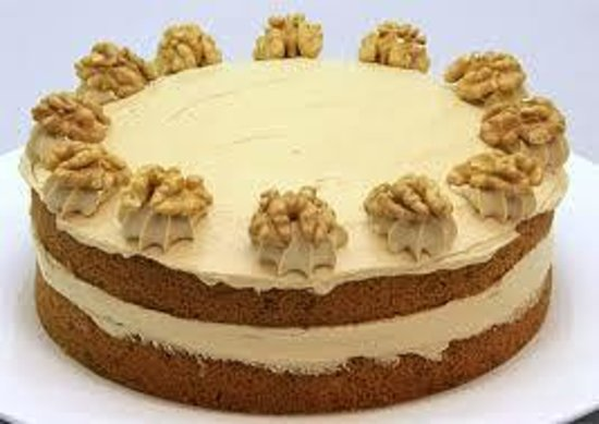 The Sugarshack Cakery: Delicious Espresso Coffee Cake great with lashings of fresh cream