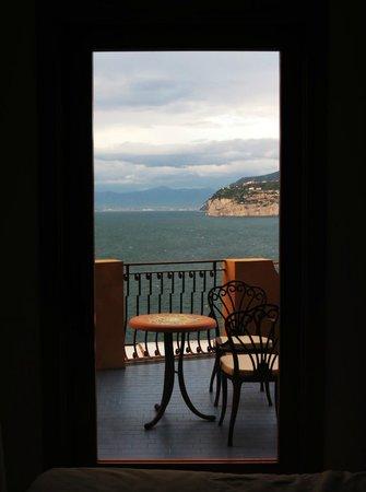 Hotel Belair: Vista desde la habitación 209