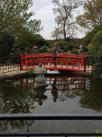 Sopwell House: Enjoying the gardens!