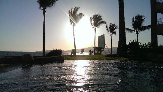 Villa La Estancia Beach Resort & Spa Riviera Nayarit: SUNSET JACUZZI Externo