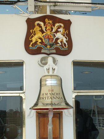 Royal Yacht Britannia: ships bell