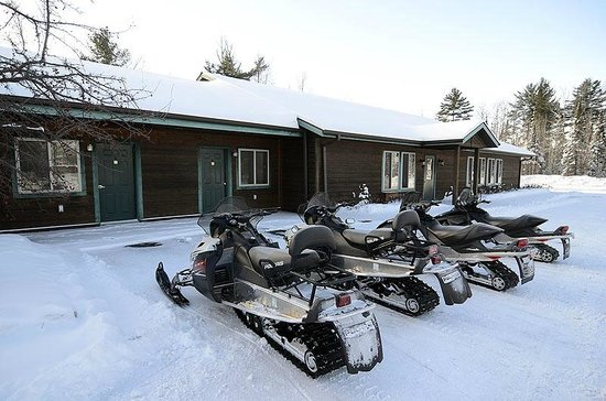 Clam Lake Junction: Located on snowmobile trails