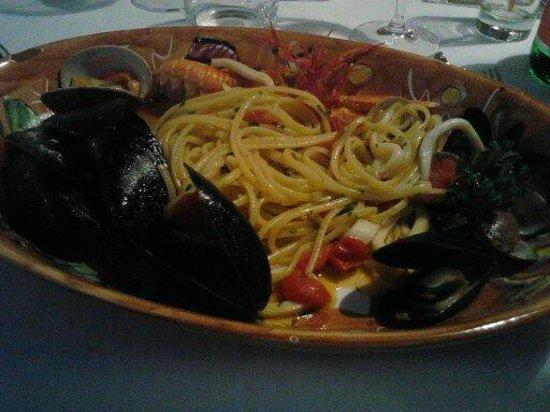 Restaurant Marina Grande: frutti di mare