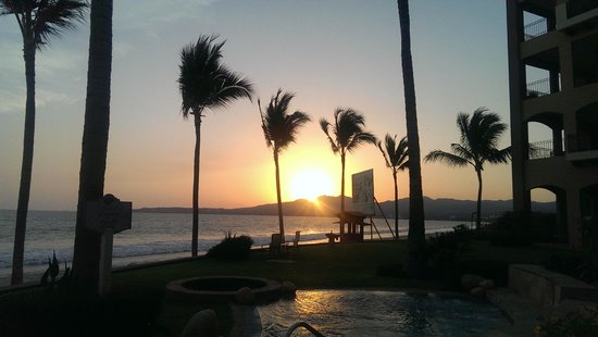 Villa La Estancia Beach Resort & Spa Riviera Nayarit: Sunset Jacuzzi Exterior