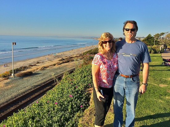 Best Western Premier Hotel Del Mar: Relaxing walk down to the beach.