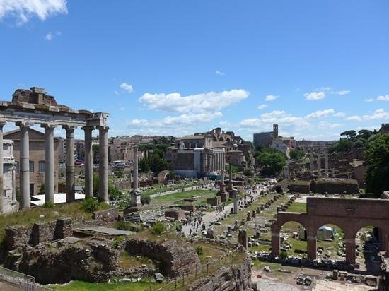 TopBike Rental & Tours: rome from a bike