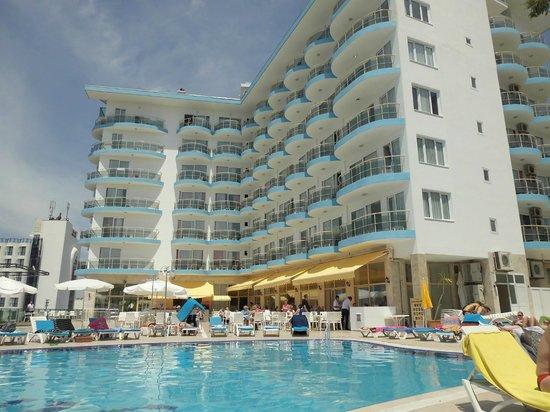 Arora Hotel: Hôtel côté mer