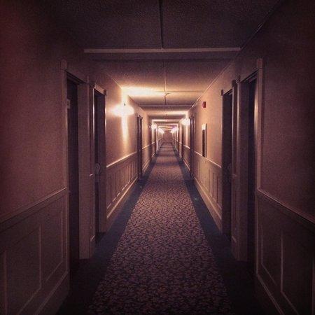 Hotel Le President: Des couloirs sinistres... ça manque de vie !