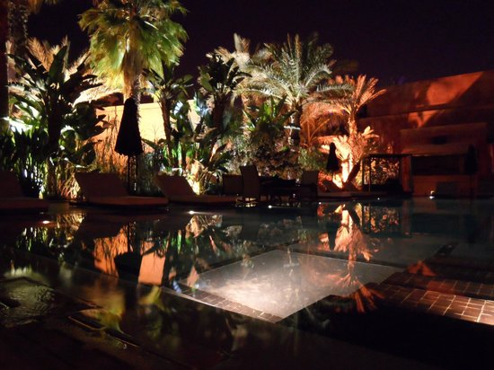 Pacha Marrakech: Outdoors