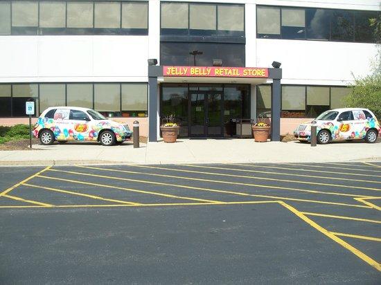 Jelly Belly Center : Entrance