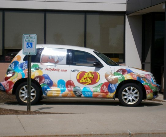 Jelly Belly Center: Jelly Belly Car
