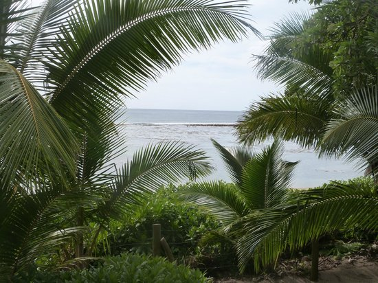 Ha'atafu Beach Resort: View From Deck