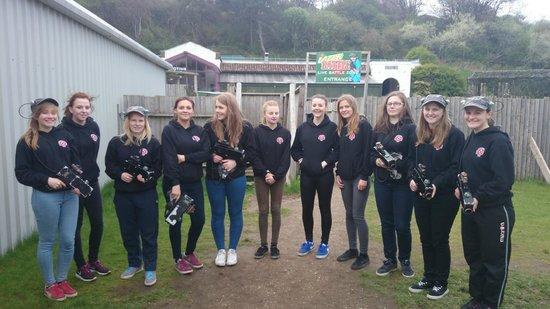 Crazy Combat: Sheffield United Ladies team