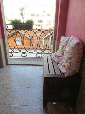 Gaia Porto Hostel: View from the balcony