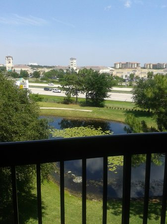 Clarion Inn Lake Buena Vista: Visto do apto