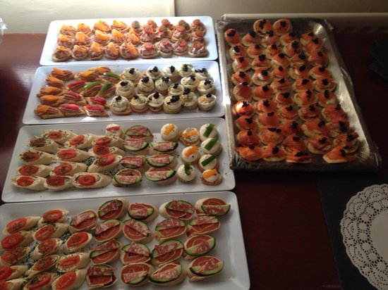 Sandbach Golf Club: Canapes