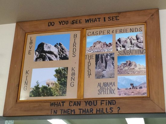 Alabama Hills Cafe and Bakery: The pictures