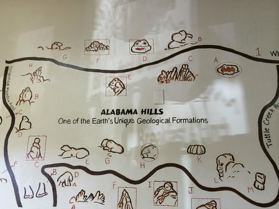 Alabama Hills Cafe and Bakery: The drawings