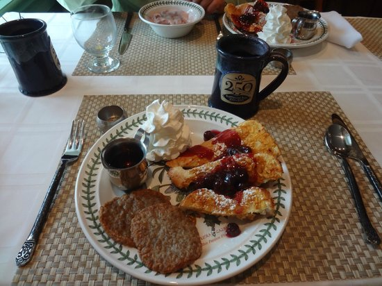 Historic Smithton Inn : Very delicious breakfast