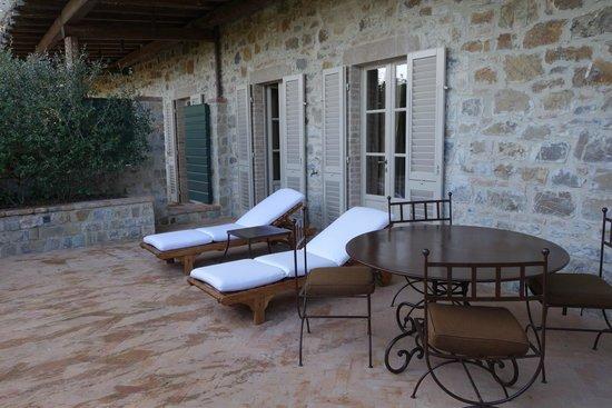 Rosewood Castiglion Del Bosco : Our Terrace