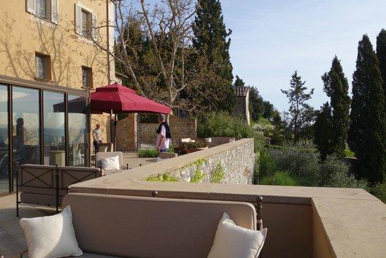 Rosewood Castiglion Del Bosco: HOTEL GROUNDS
