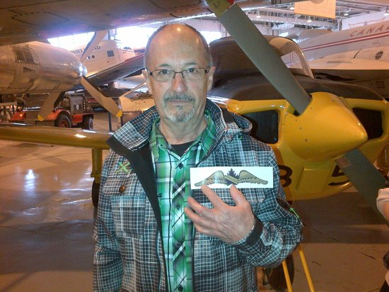 Royal Aviation Museum of Western Canada: He got his wings!