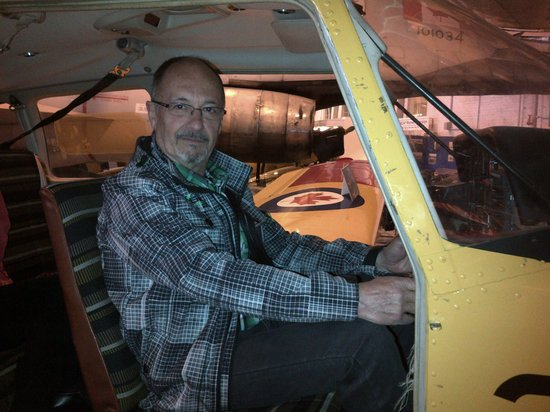 Royal Aviation Museum of Western Canada: Inside of one of the planes