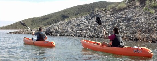Go Paddle AZ : Scenic shorelines and coves