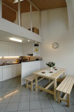 Apartments Justingerweg : Deluxe Apartment kitchen