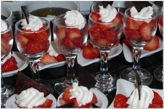 D-Resort Grand Azur: njam, njam lekkere desserten...
