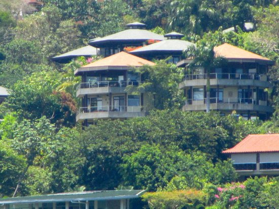 Tulemar Bungalows & Villas: bungalow view from water
