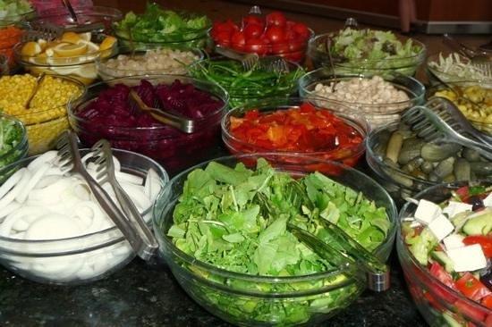 D-Resort Grand Azur: Salade's