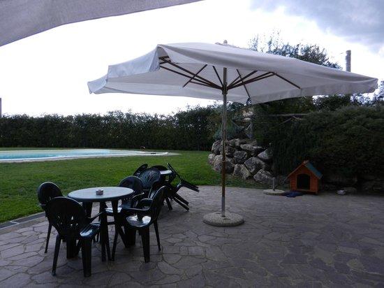 Il Vialetto Country House: area relax e colazione